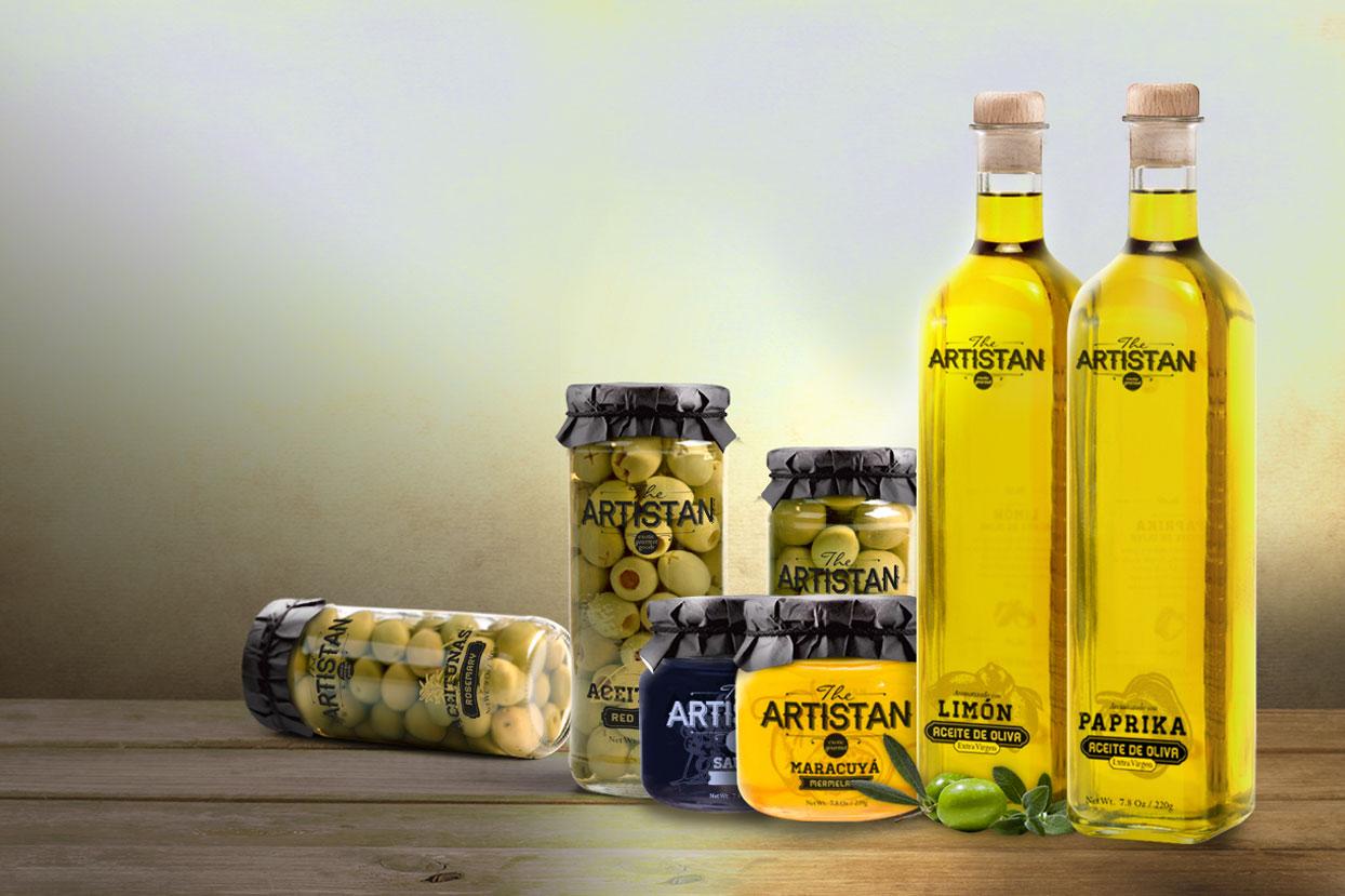 Enjoit fue seleccionado para la creación de marca de una nueva línea de exportación para la empresa Frikuent, especialista en trading de productos gourmet.
